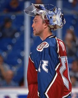 1996 Colorado Avalanche PATRICK ROY Glossy 8x10 Photo Hockey