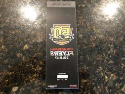 2016-17 Philadelphia Flyers NHL Official Mint Ticket Stubs -