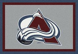 8x11 Milliken Colorado Avalanche Sports NHL Spirit Area Rug