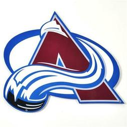 Authentic Street Signs 90206 12 in. Colorado Avalanche Steel