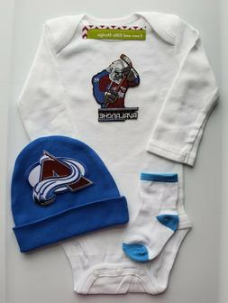 Avalanche baby/infant outfit Avalanche baby gift Avalanche b