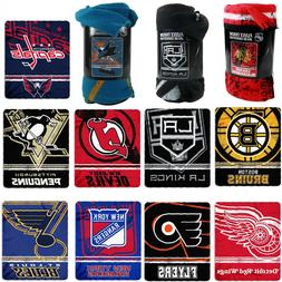 """Brand New Northwest NHL Teams Large Soft Fleece Throw Blank"