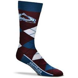 colorado avalanche argyle crew socks
