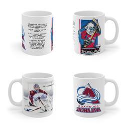 Colorado Avalanche ART Mug Coffee Tea Gift Fun Team Logo NHL