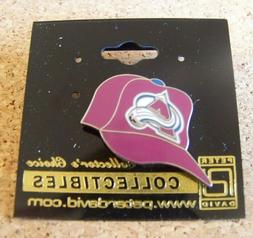colorado avalanche baseball cap lapel pin nhl