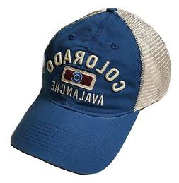 Reebok Colorado Avalanche Hat Slouch Mesh Adjustable Snapbac