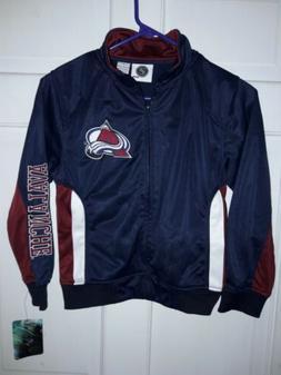 Colorado Avalanche Hockey NHL apparel track Jacket athletic