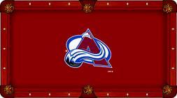 Colorado Avalanche Holland Bar Stool Co. Red Billiard Pool T