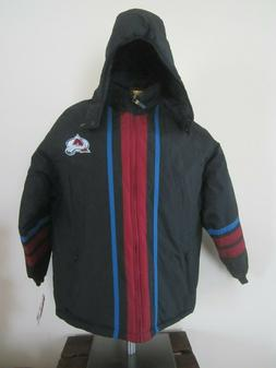COLORADO AVALANCHE HOODED JACKET ~ SIZE XL / PUMA & NHL PROD