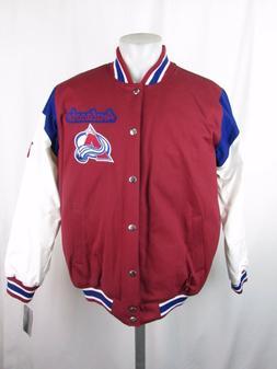 Colorado Avalanche Men's G-III Stanley Cup Cloth Jacket Size