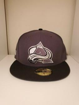 colorado avalanche nhl 59fifty fitted hat cap