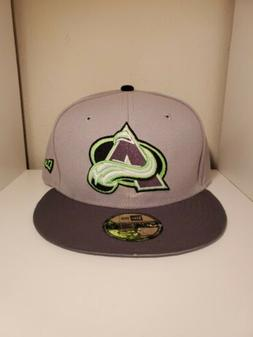 Colorado Avalanche NHL New Era 59Fifty Fitted Hat/Cap Size 7