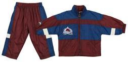 Colorado Avalanche NHL Baby Boys Infant Wind Suit Set Jacket