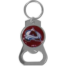 colorado avalanche nhl bottle opener keychain