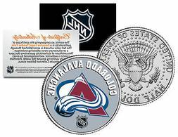 COLORADO AVALANCHE NHL Hockey JFK Kennedy Half Dollar U.S. C