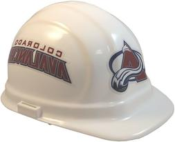 Colorado Avalanche NHL Team Hard Hat with Pin Lock Suspensio