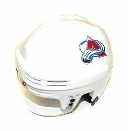 Colorado Avalanche NHL Hockey Team Logo White SportStar Play