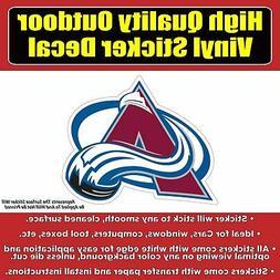 Colorado Avalanche-NHL Hockey Vinyl Car Window Bumper Laptop