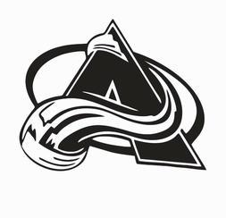 colorado avalanche nhl hockey vinyl die cut