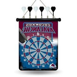 colorado avalanche nhl licensed magnetic dart board