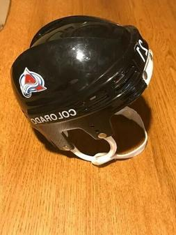 Colorado Avalanche NHL Peter Forsberg Mini Hockey Helmet