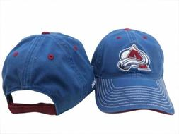 colorado avalanche nhl stitched slouch adjustable hat