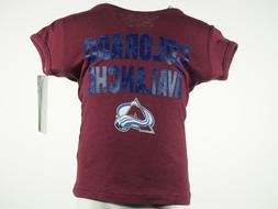 Colorado Avalanche Official NHL Apparel Infant Toddler Girls