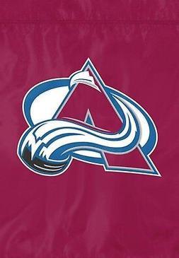 Colorado Avalanche PA GARDEN Window Flag Banner Applique Emb