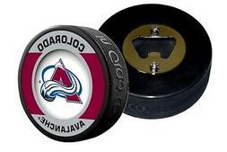 Colorado Avalanche Retro Series Hockey Puck Bottle Opener