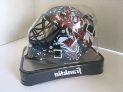 Colorado Avalanche Franklin Sports NHL Mini Goalie Mask Helm