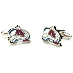 Colorado Avalanche Team Logo Cufflinks