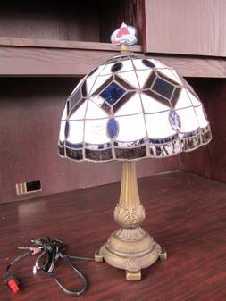 COLORADO AVALANCHE Tiffany Stained Glass Table Lamp NEW IN B