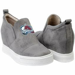 Colorado Avalanche Cuce Women's Snap Slip-On Shoes
