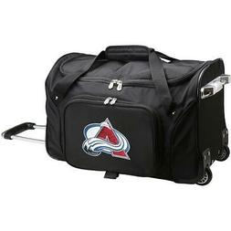 "DENCO COLORADO AVALANCHE 22"" 2-WHEELED CARRY-ON DUFFEL"