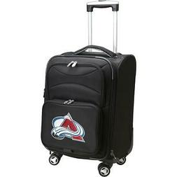 DENCO SPORTS LUGGAGE COLORADO AVALANCHE 20'' BLACK DOMESTIC