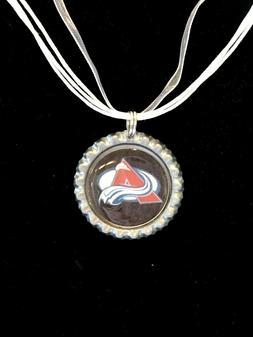 HOCKEY FANS!!  Colorado AVALANCHE Hockey Necklace