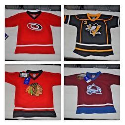 NHL Hockey Long Sleeve Player Jerseys Shirts Youth Sizes New
