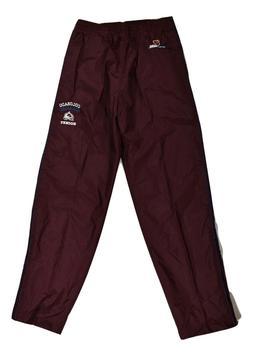 Hockey Rules Mens Colorado Avalanche Windpants Pants New S,