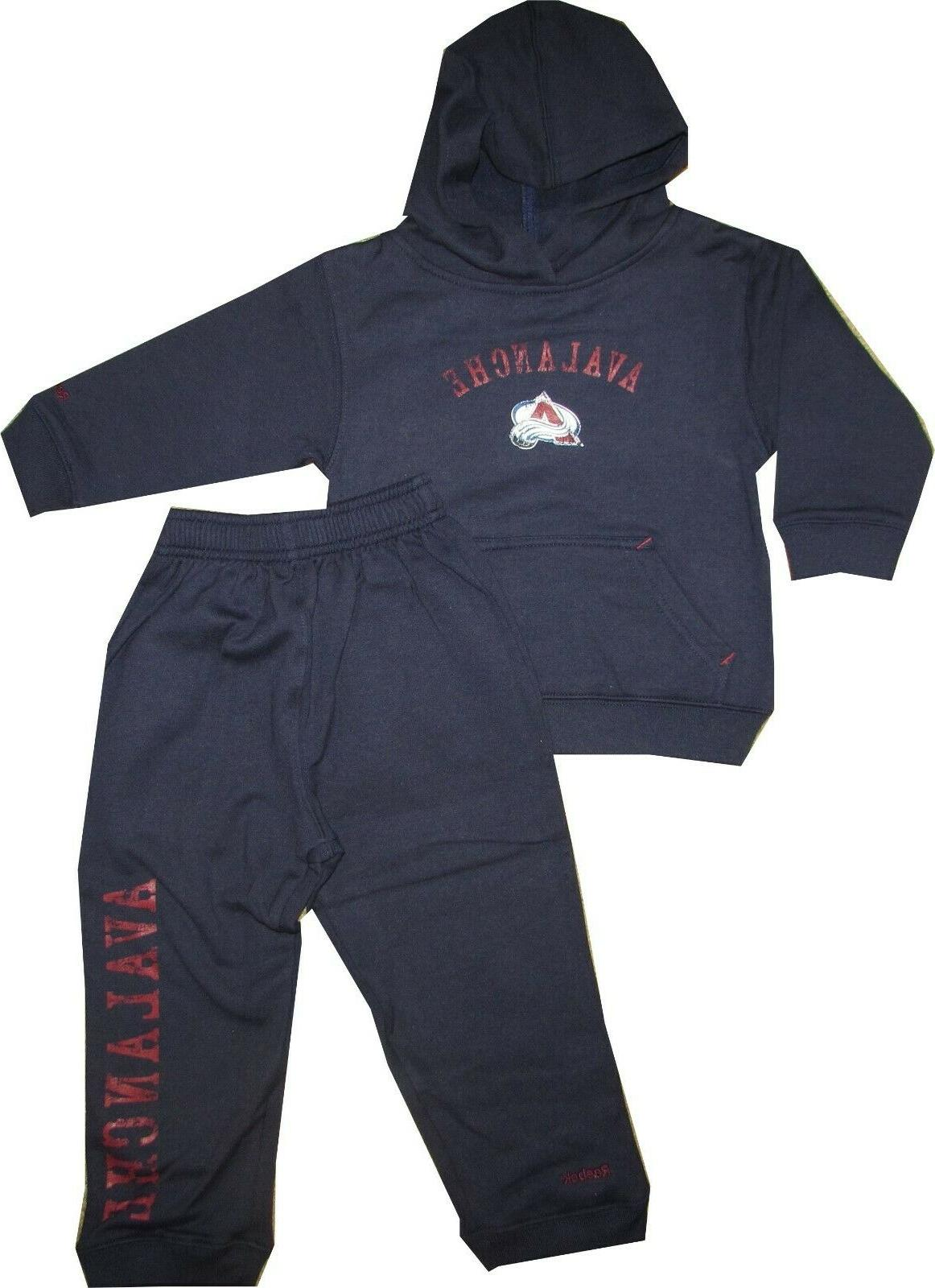 colorado avalanche 2pc hooded sweatshirt and pants