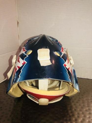 KOHO Colorado Avalanche Adult Hockey Goalie Helmet Autographed