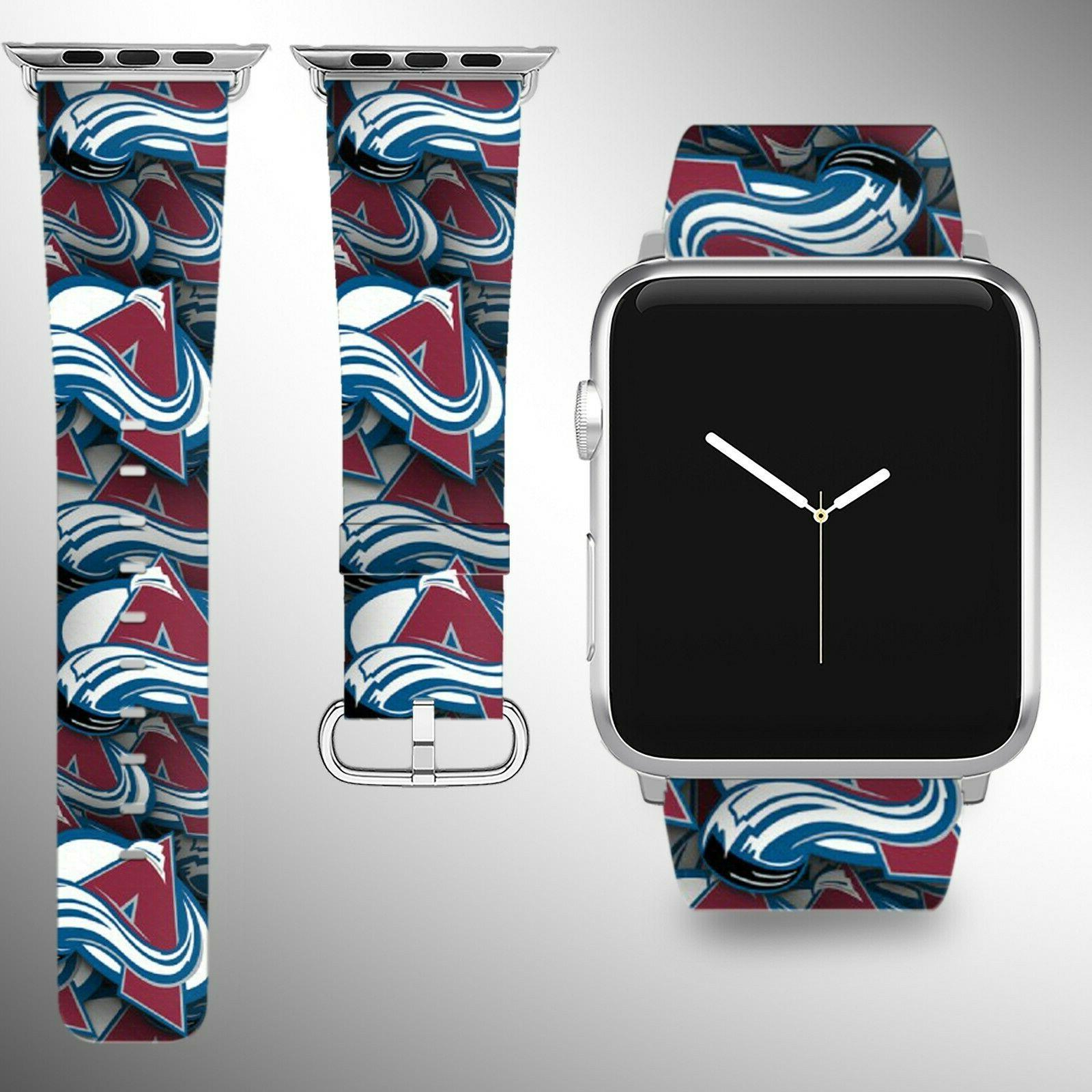 colorado avalanche apple watch band 38 40