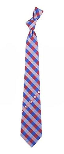 Eagles Wings Colorado Avalanche Checked Tie