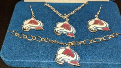 **Peter David Colorado Avalanche Jewelry