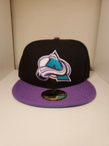 colorado avalanche nhl 59fifty fifty fitted hat