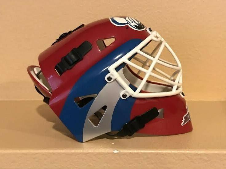Colorado NHL Hockey Goalie Helmet