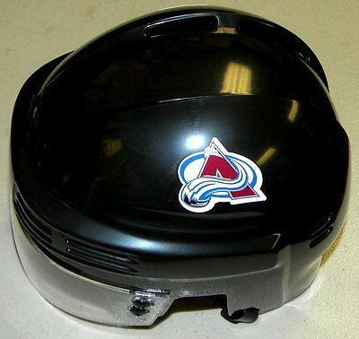 colorado avalanche nhl hockey team logo black