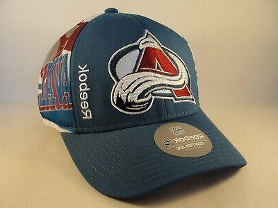 colorado avalanche nhl snapback hat cap blue