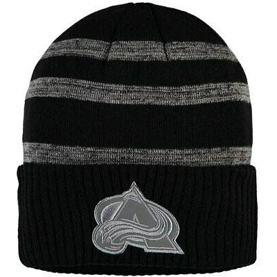 colorado avalanche reflective sneaker cuffed knit hat