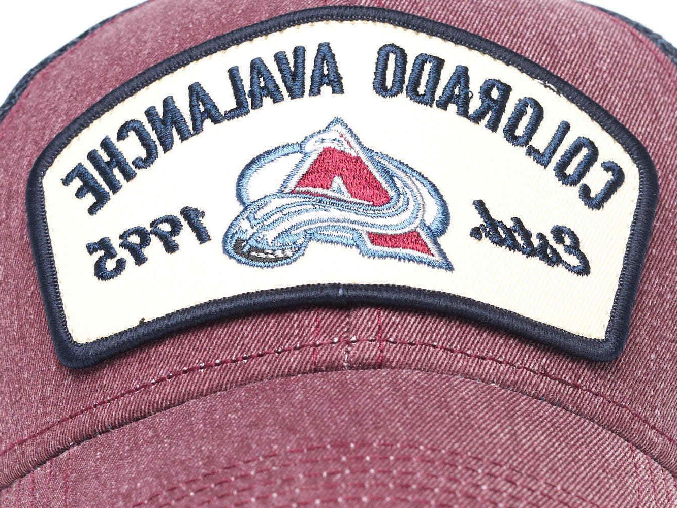 """Colorado """"Vintage"""" NHL trucker cap"""