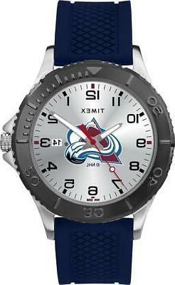 Men's Colorado Avalanche Gamer Watch Timex Silicone Watch